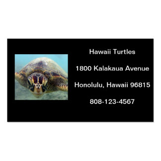Hawaii Turtle Pack Of Standard Business Cards