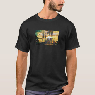 Hawaii Unchained Sunset Graphic T-Shirt