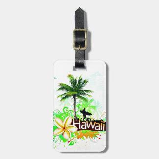 Hawaii Vacation Travel Souvenir Luggage Tag