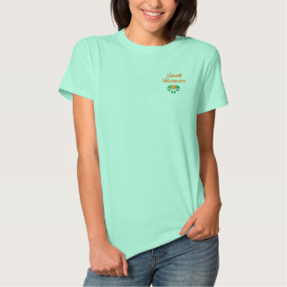 Hawaii Volcanoes National Park Embroidered Shirts