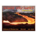 Hawaii Volcanoes National Park Postcard