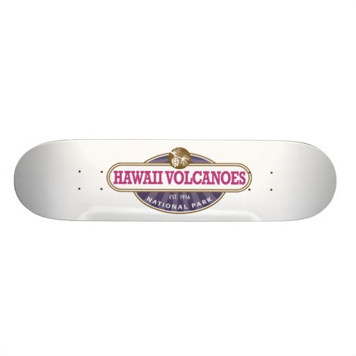 Hawaii Volcanoes National Park Custom Skateboard