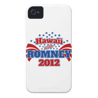 Hawaii with Romney 2012 iPhone 4 Case-Mate Cases
