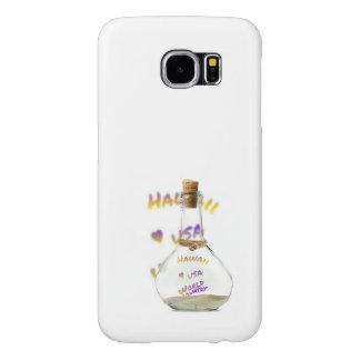 Hawaii world city, Water Bottle Samsung Galaxy S6 Cases