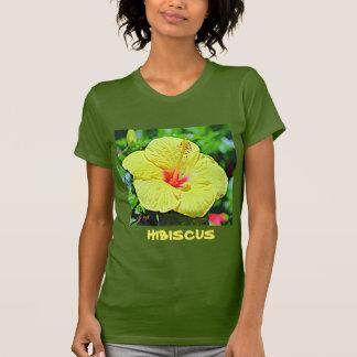 Hawaii Yellow Hibiscus T-Shirt