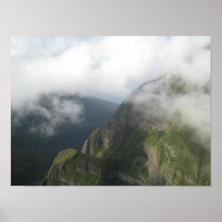 Hawaiian Aerial View Poster