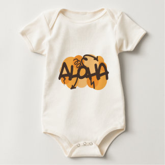 HAwaiian - Aloha graffiti style Baby Bodysuit