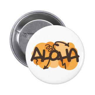 HAwaiian - Aloha graffiti style Pins