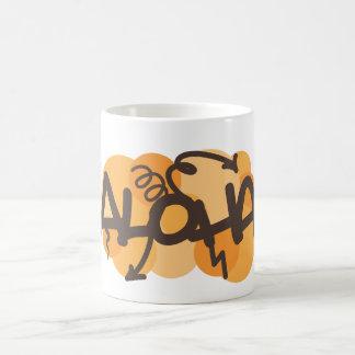 HAwaiian - Aloha graffiti style Mug