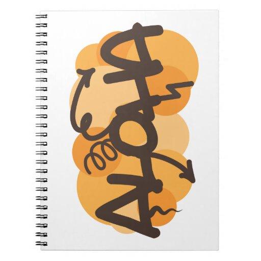 HAwaiian - Aloha graffiti style Notebooks