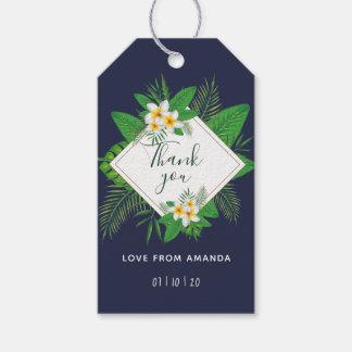 Hawaiian Aloha Luau Party Guest Favor Gift Tags