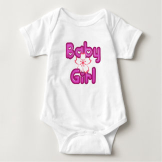 Hawaiian Baby Girl Baby Bodysuit