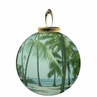 Hawaiian Beach Ornament Photo Sculpture Decoration