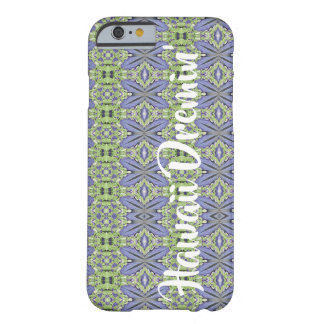 "Hawaiian blue ginger ""Hawaii Dreamin'"" Barely There iPhone 6 Case"