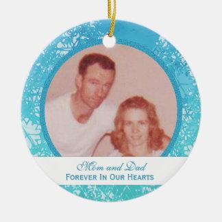 Hawaiian Breeze: Memorial: Picture Ornament