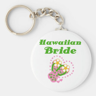 Hawaiian Bride Key Ring