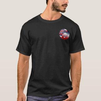 Hawaiian by Blood - Honu globe T-Shirt