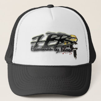 Hawaiian by Blood Ikaika helmet Trucker Hat