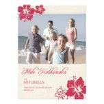 Hawaiian Christmas Cards Invite