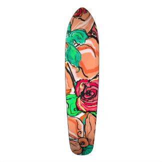 Hawaiian Classic Custom Pro Surfer Long Board 20 Cm Skateboard Deck