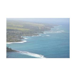 Hawaiian Coastline Canvas Print
