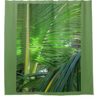 Hawaiian Coconut Palm Shower Curtain