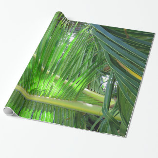 Hawaiian Coconut Palm Wrapping Paper