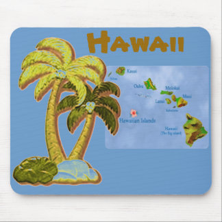 Hawaiian Coconut trees mousepad