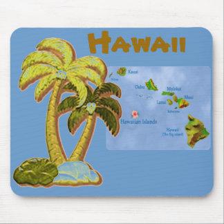 Hawaiian Coconut trees mousepad Mouse Pad