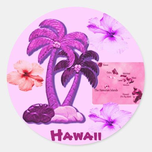 Hawaiian Coconut trees sticker