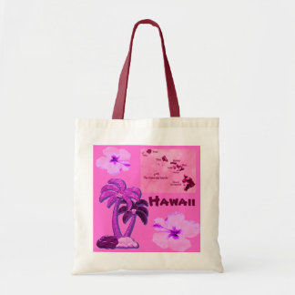 Hawaiian Coconut trees tote bag