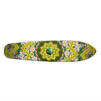 Hawaiian Delight - Yellow Kaleidoscope Edition Skate Decks