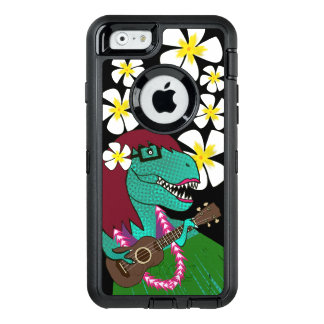 Hawaiian Dinosaur Ukulele OtterBox iPhone 6/6s Case