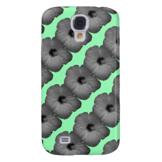 Hawaiian Dreams in Black and White Galaxy S4 Cases