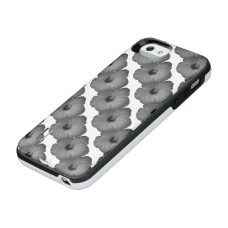 Hawaiian Dreams in Black and White iPhone SE/5/5s Battery Case