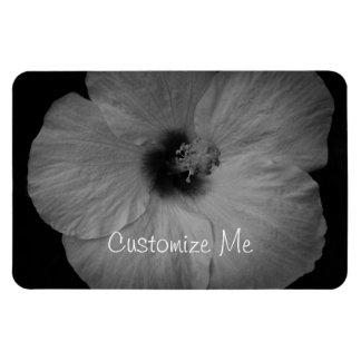 Hawaiian Dreams in Black and White Rectangular Photo Magnet