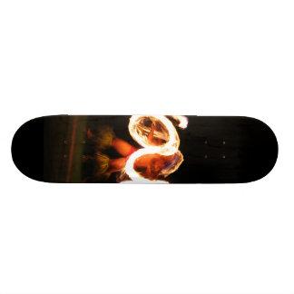 Hawaiian Fire Dance 20.6 Cm Skateboard Deck