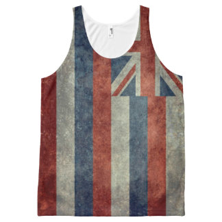 Hawaiian Flag All-Over Print Singlet