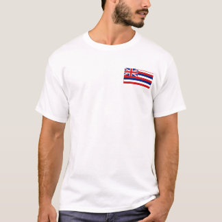 Hawaiian Flag + Map T-Shirt