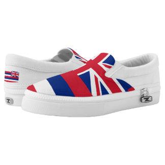 Hawaiian Flag Slip-On Shoes