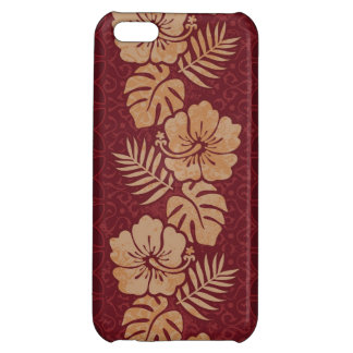 Hawaiian Floral Pattern iPhone 5C Cover
