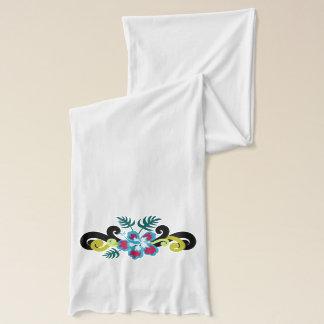 Hawaiian Floral Scarf