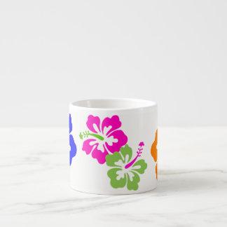 Hawaiian Flower Espresso Cup