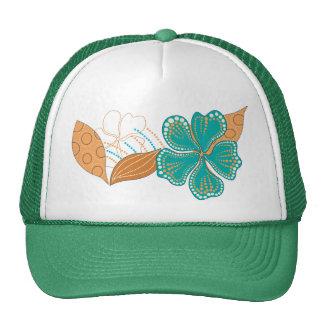 hawaiian flower hats