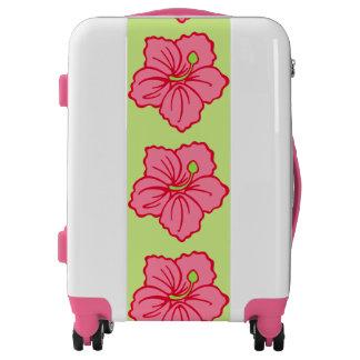 Hawaiian Flower Luggage