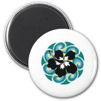Hawaiian Flower Magnet