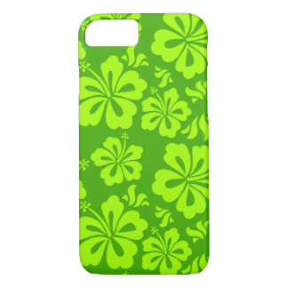 Hawaiian flower phone cover