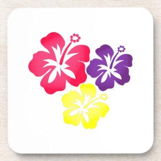 Hawaiian Flowers Beverage Coaster