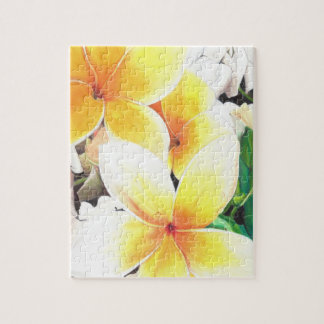 Hawaiian flowers puzzle