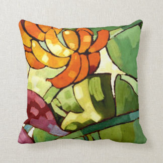 Hawaiian Flowers Throw Cushion